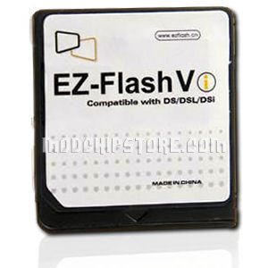 Nintendo DSi EZ-Flash Vi DSi Compatible Backup Unit For NDS, NDS Lite and DSi